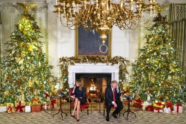 Trump asks 7-year-old 'Are you still a believer in Santa
