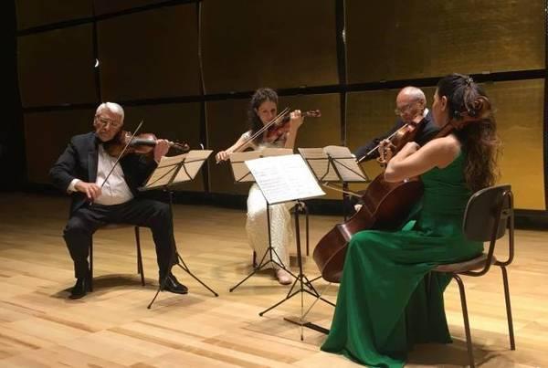 Armenian National String Quartet after Komitas participates